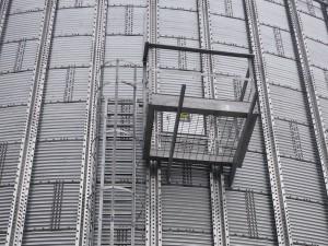 Access Ladders & Platform to second door